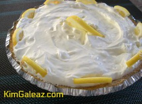 Lemonade Pie on Pi Day