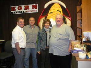 Dining with the Guys at Korn Country: Boost, Sub, Switch