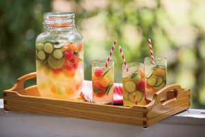 Cucumber Melon & Mint Sangria