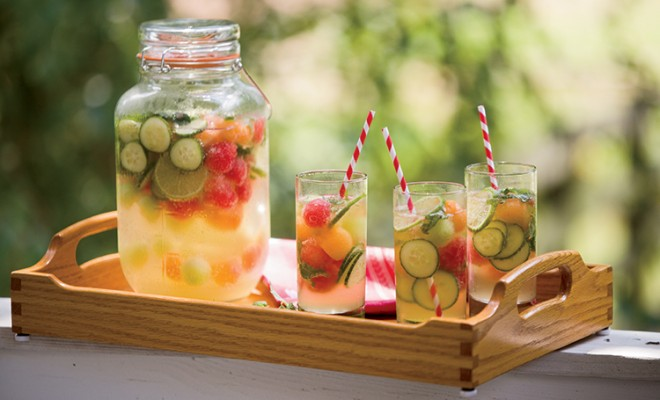 Sangria Cucumber Melon Mint