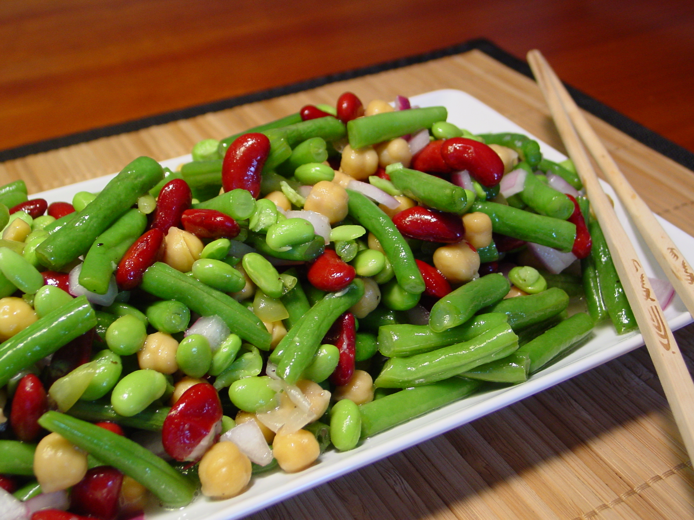 Jeff's Favorite Asian Sweet & Sour Bean Salad