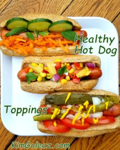 Healthy Hot Dog Toppings