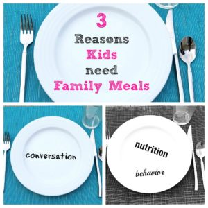 Why Your Kids Need Family Meals Together