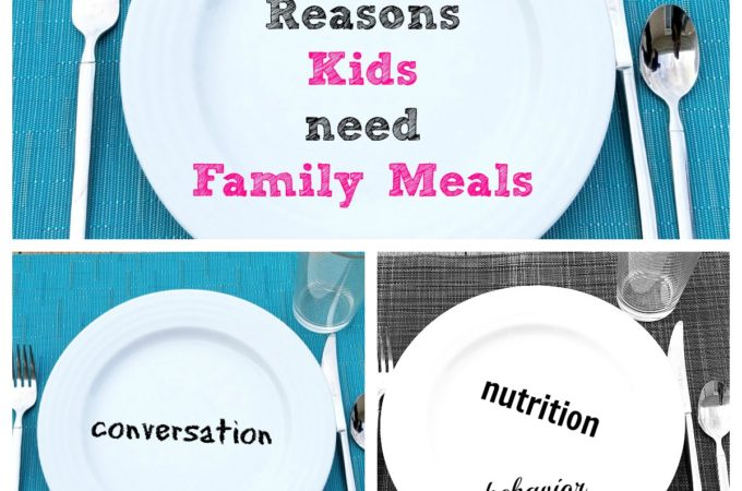family meals, eat together, three family meals a week