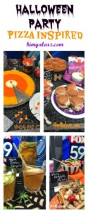 Halloween Pizza Inspired Party