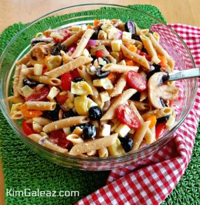 Very Veggie Pizza Pasta Salad