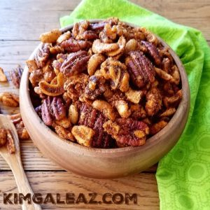 Hot, Spicy, Sweet & Smokey Mixed Nuts