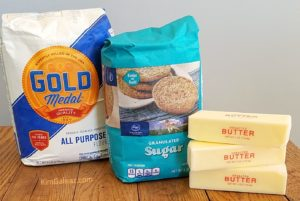 31 Reasons I'm Vibrant at Sixty #4: Flour. Sugar. Butter.