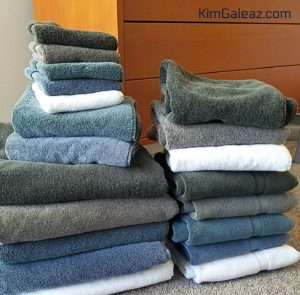 31 Reasons I'm Vibrant at Sixty #3: Use the Good Towels
